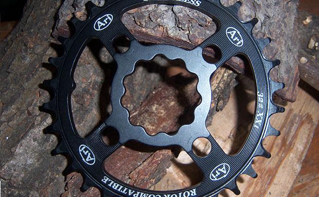 Nueva gama de platos DM (montaje directo) de Ari Bike para bielas Rotor REX 1 y REX 2