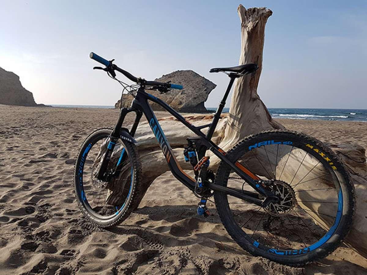En TodoMountainBike: La foto del día en TodoMountainBike: 'En la playa de Mónsul'