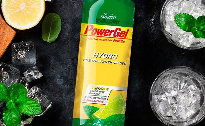 ¿Cacahuetes salados o mojito? Nuevos sabores para los geles energéticos PowerBar PowerGel