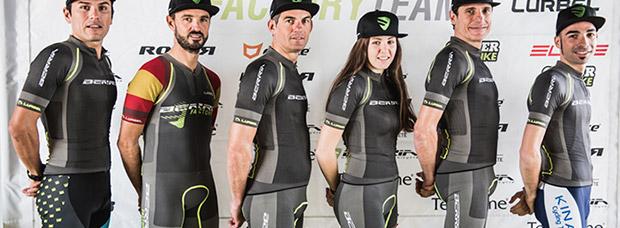 El Berria Factory Team 2017, al completo