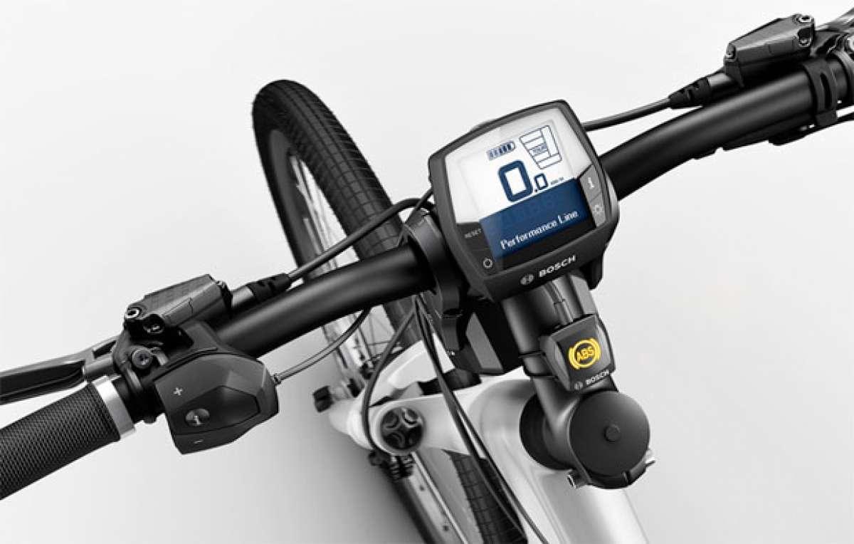 Los frenos ABS llegan al mundo del ciclismo con el sistema Bosch eBike ABS