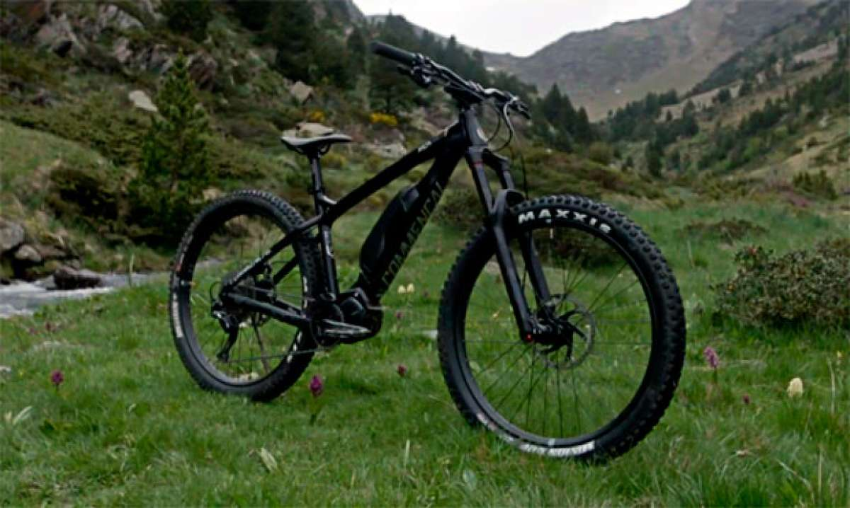La Commencal META HT Power de 2018 en acción