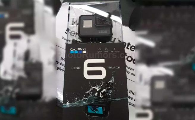 Llega la GoPro HERO 6: presentación en directo el jueves 28 de septiembre a las 9:00 AM