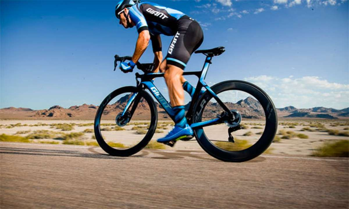 La Giant Propel Disc de 2018 en acción