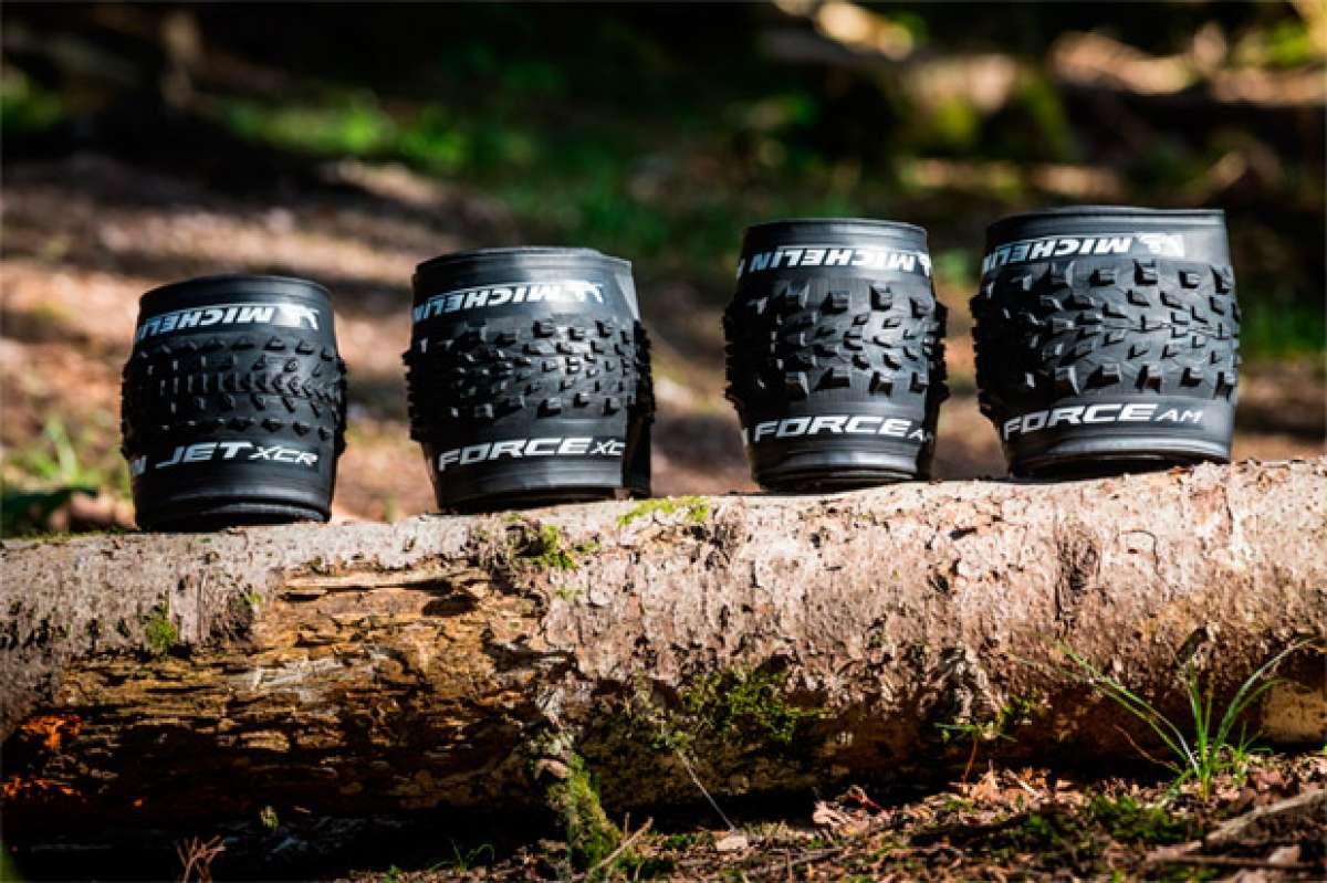 Cuatro nuevas gamas de neumáticos Michelin a la vista: JET XCR, FORCE XC, FORCE AM y WILD AM