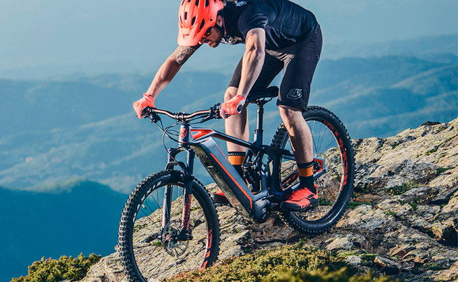 La Mondraker e-Crusher Carbon 2018 en acción