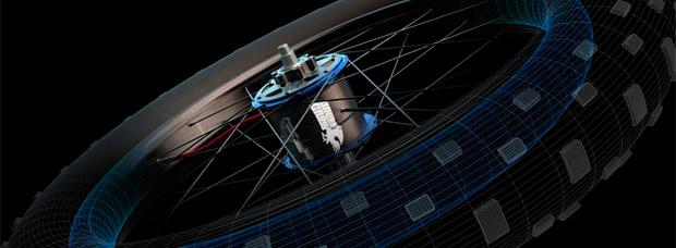 The WhiteCrow Hub, un buje trasero capaz de inflar o desinflar la rueda a discreción del ciclista