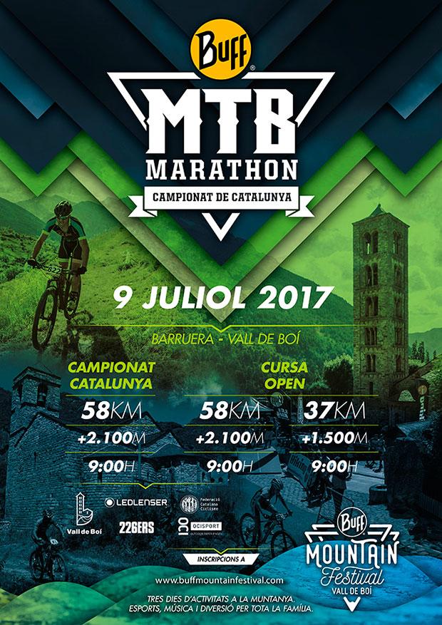 Todo a punto para el BUFF MTB Marathon 2017, el Campeonato de Cataluña de XCM