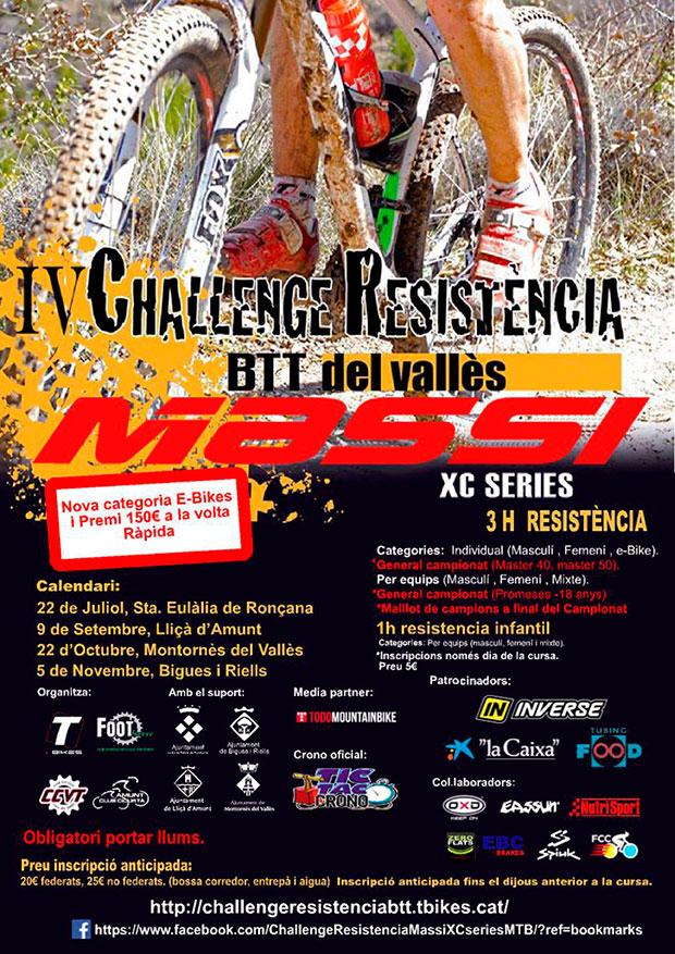 Todo a punto para la primera prueba de la IV Challenge Resistencia BTT Massi XC-Series