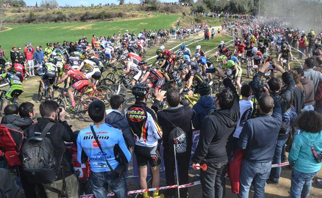 Todo listo para la primera prueba MTB UCI Hors Class de España: la Copa Catalana Internacional BTT de Banyoles