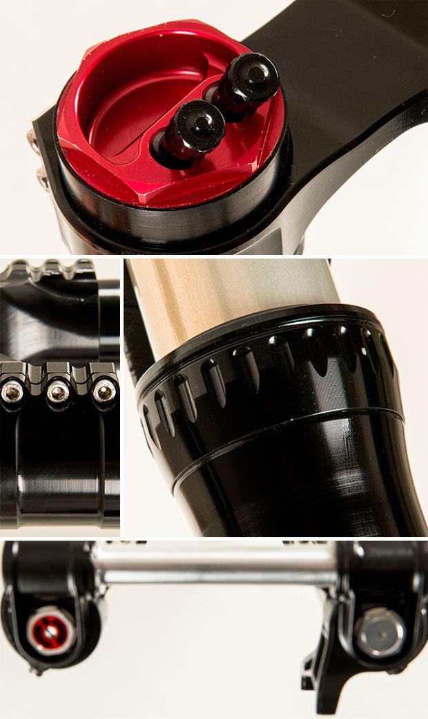 Primeras imágenes (y vídeo) de la BOS Obsys, la horquilla invertida de la firma para bicicletas de DH