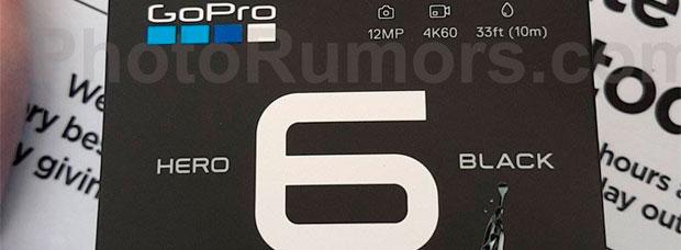 Filtrados los primeros detalles (e imagen) de la GoPro HERO 6