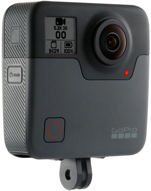 En marcha las primeras unidades de la GoPro Fusion, una avanzada cámara esférica de 5.2K