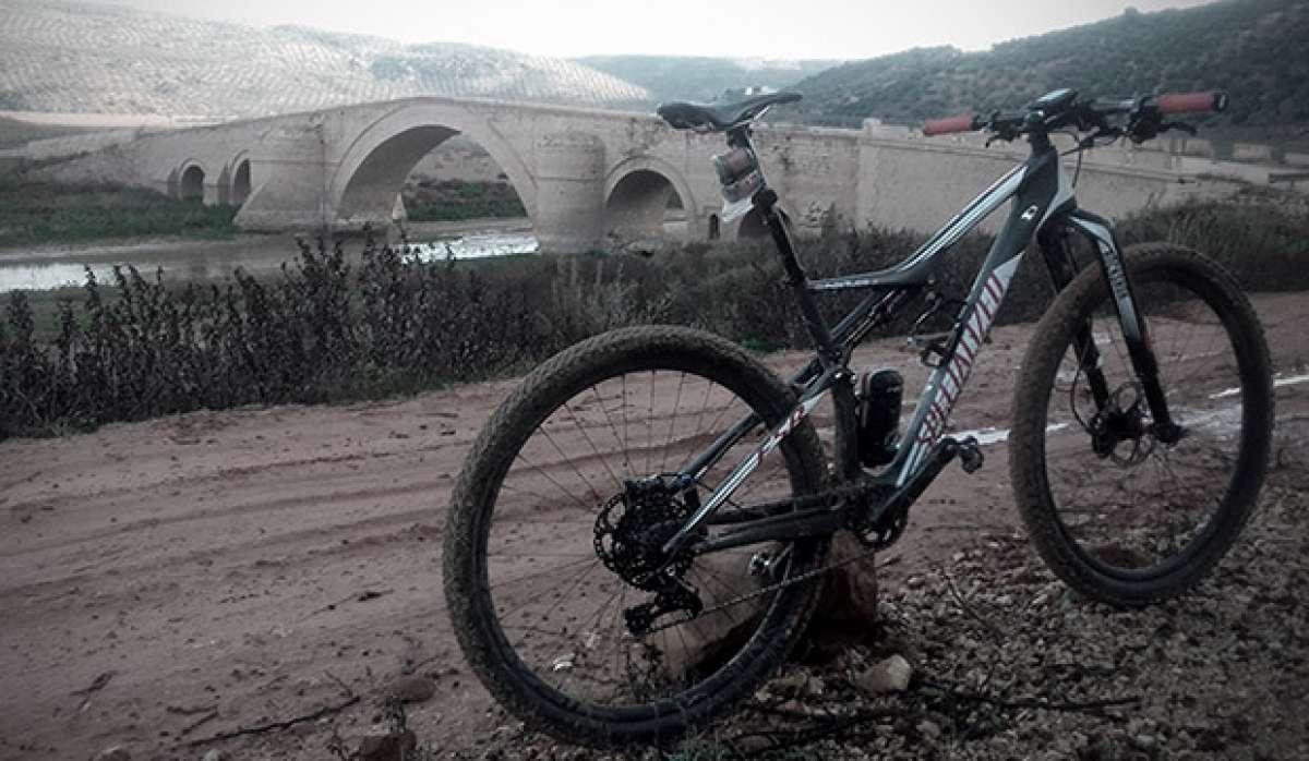"""La foto del día en TodoMountainBike: """"El Milagro del Puente Ariza"""""""