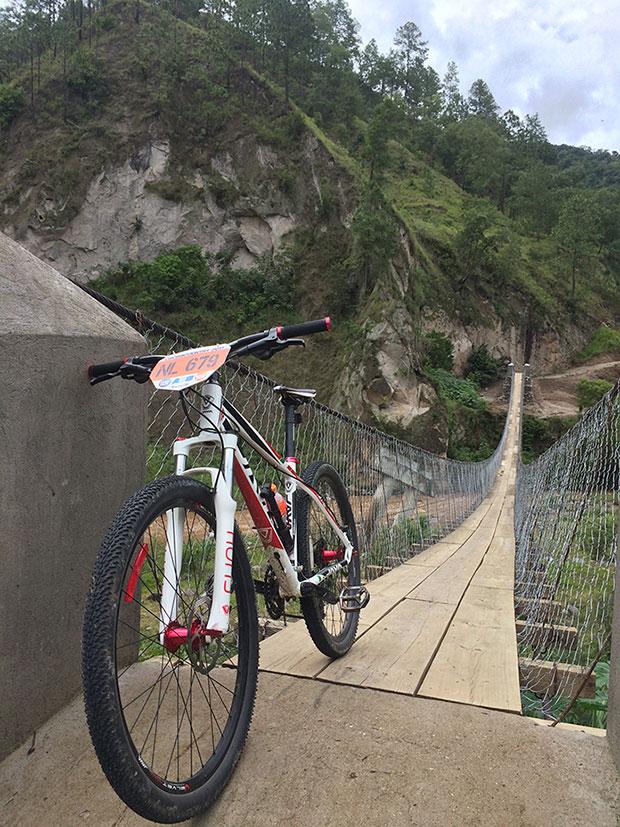 La foto del día en TodoMountainBike: 'Puente sobre el Río Pixcayá'