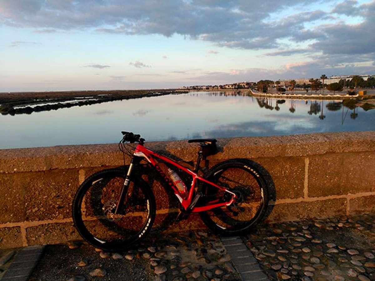 """La foto del día en TodoMountainBike: """"Puente Zuazo, en San Fernando (Cádiz)"""""""
