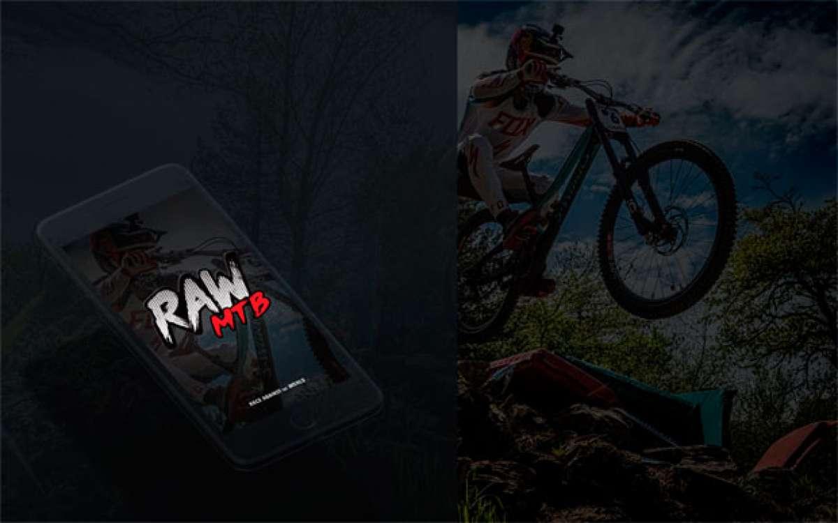 """RAW MTB, una aplicación móvil para medirse con los mejores """"riders"""" en las pistas de los Bike Parks más famosos del mundo"""