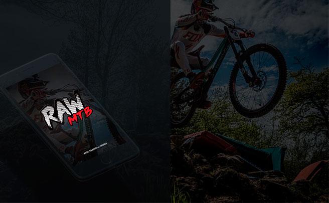 RAW MTB, una aplicación móvil para medirse con los mejores 'riders' en las pistas de los Bike Parks más famosos del mundo