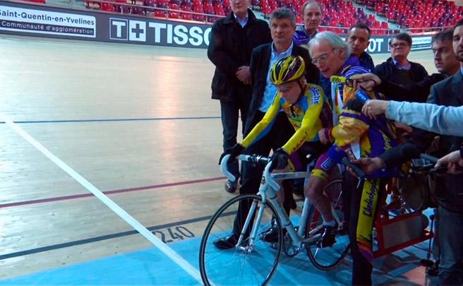 Así batió Robert Marchand el récord de la hora en la categoría de más de 105 años de edad