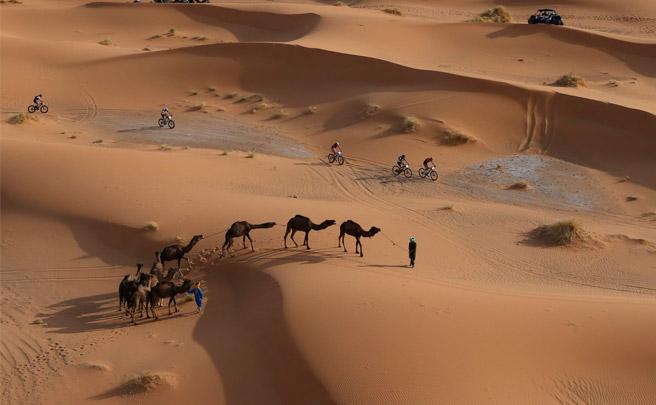 El recorrido completo de la Titan Desert 2017, la edición con más arena hasta la fecha