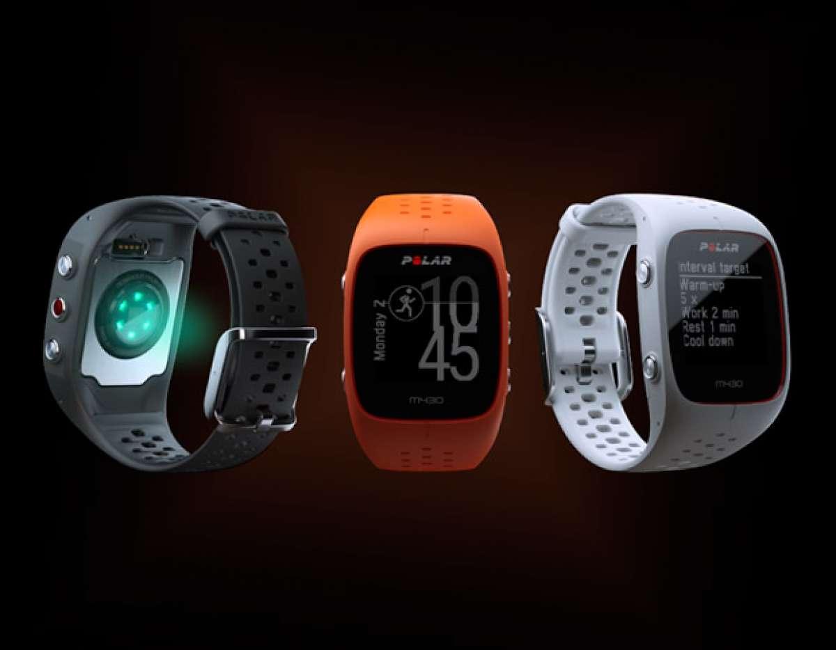 Sensor óptico de frecuencia cardíaca para el Polar M430, la evolución del reloj GPS más vendido de la marca