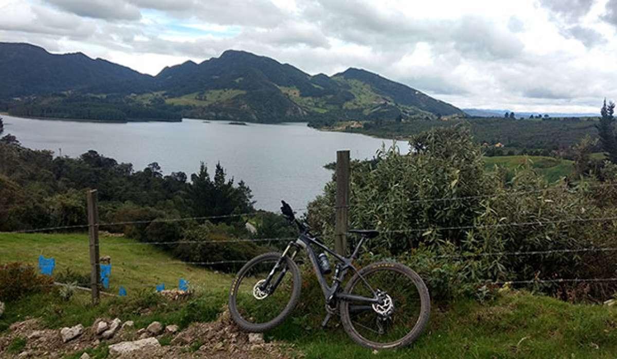 La foto del día en TodoMountainBike: 'Represa del Neusa - Colombia'