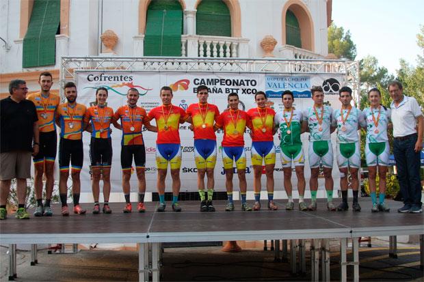 En TodoMountainBike: Cataluña, vencedora del Team Relay en el Campeonato de España XCO 2017