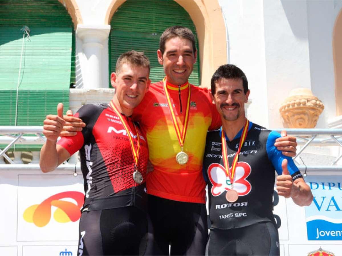 David Valero y Rocío Gamonal, campeones de España de XCO en 2017