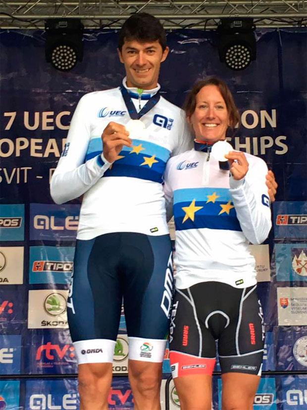 En TodoMountainBike: Tiago Ferreira y Christina Kollmann, vencedores del Campeonato de Europa XCM 2017