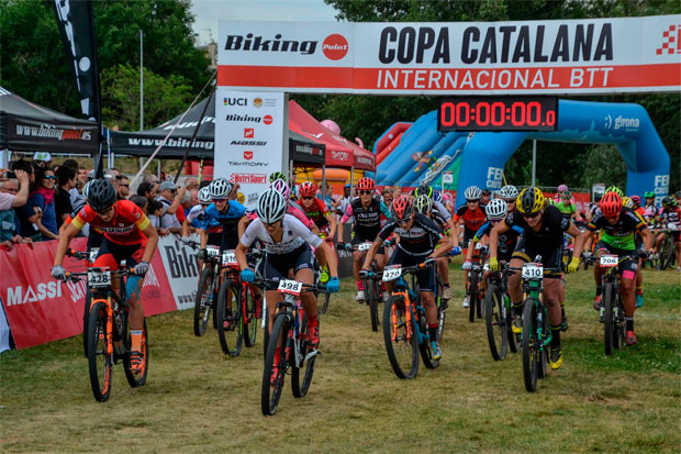En TodoMountainBike: David Valero y Clàudia Galicia dominan la Copa Catalana Internacional BTT Biking Point 2017 de Girona