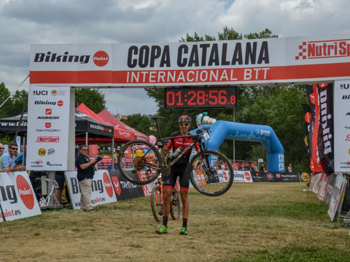 David Valero y Clàudia Galicia dominan la Copa Catalana Internacional BTT Biking Point 2017 de Girona