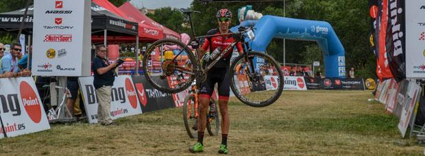 David Valero y Clàudia Galicia dominan la Copa Catalana Internacional BTT Biking Point 2017 de Girona