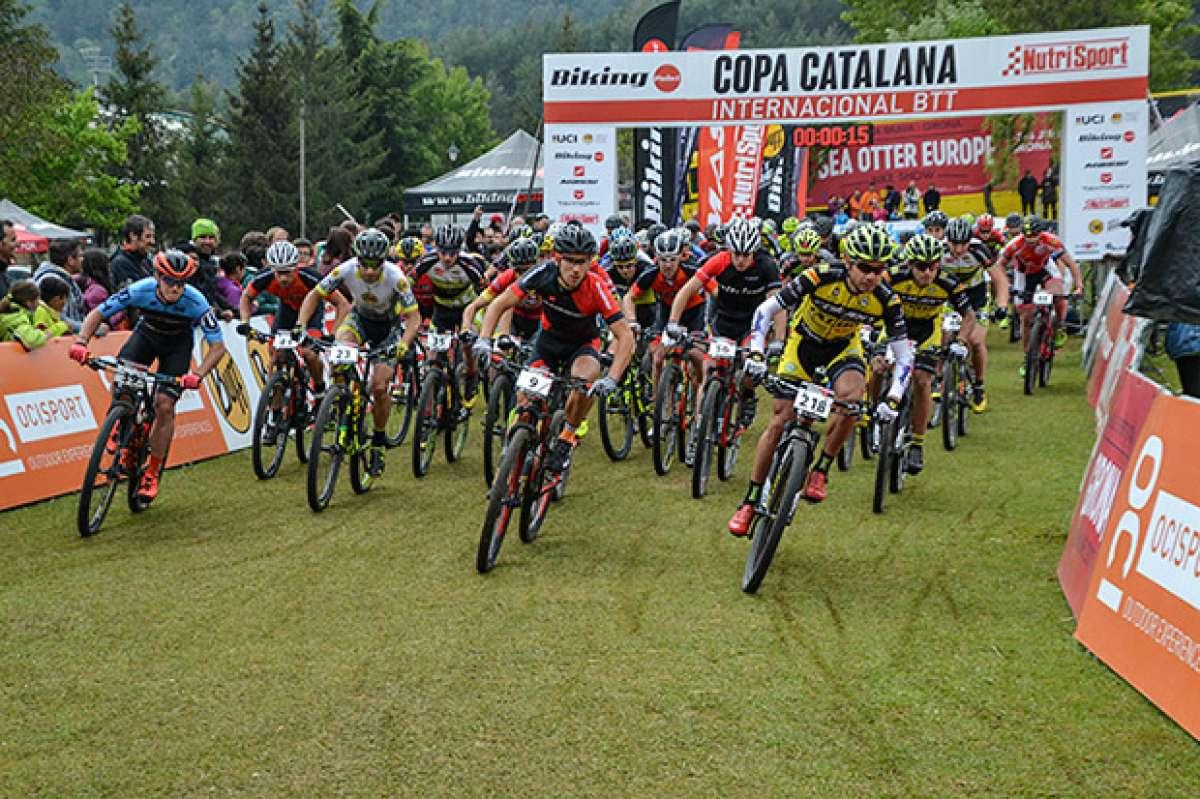 La Copa Catalana Internacional BTT Biking Point 2017 de la Vall de Lord, para Hugo Drechou y Magda Duran