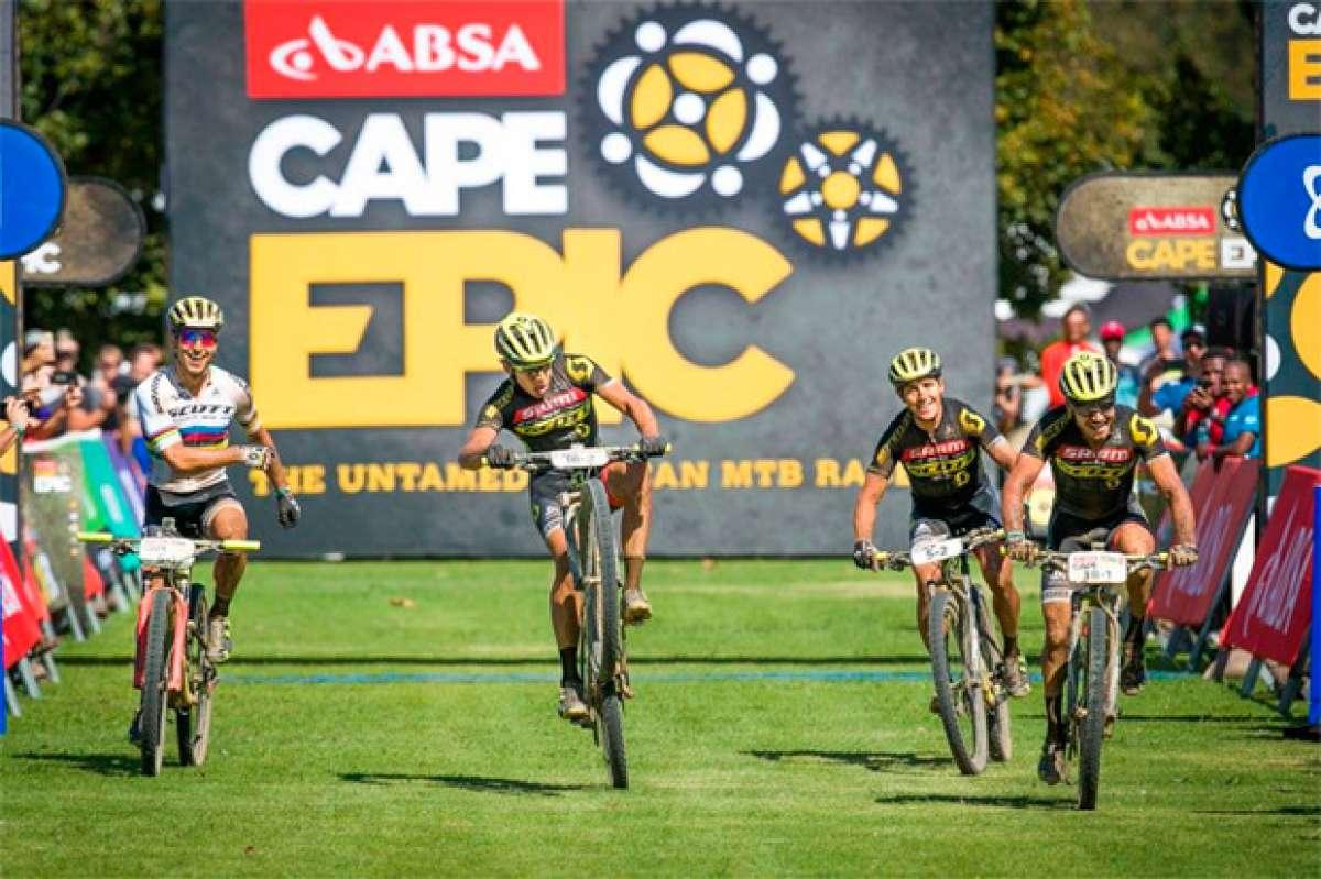En TodoMountainBike: Recital de los equipos SCOTT-SRAM en la cuarta etapa de la Absa Cape Epic 2017