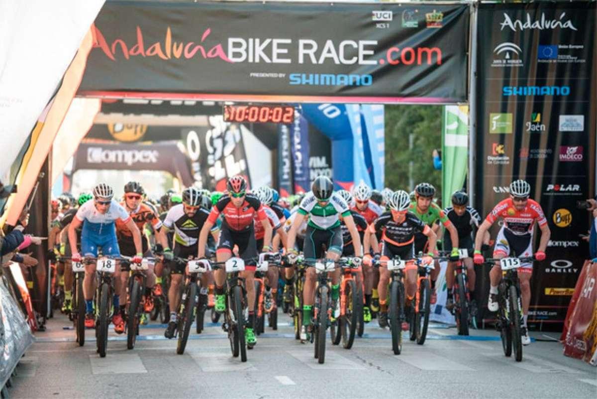 En TodoMountainBike: La cuarta etapa de la Andalucía Bike Race 2017, para Alexey Medvedev y Raiza Goulao