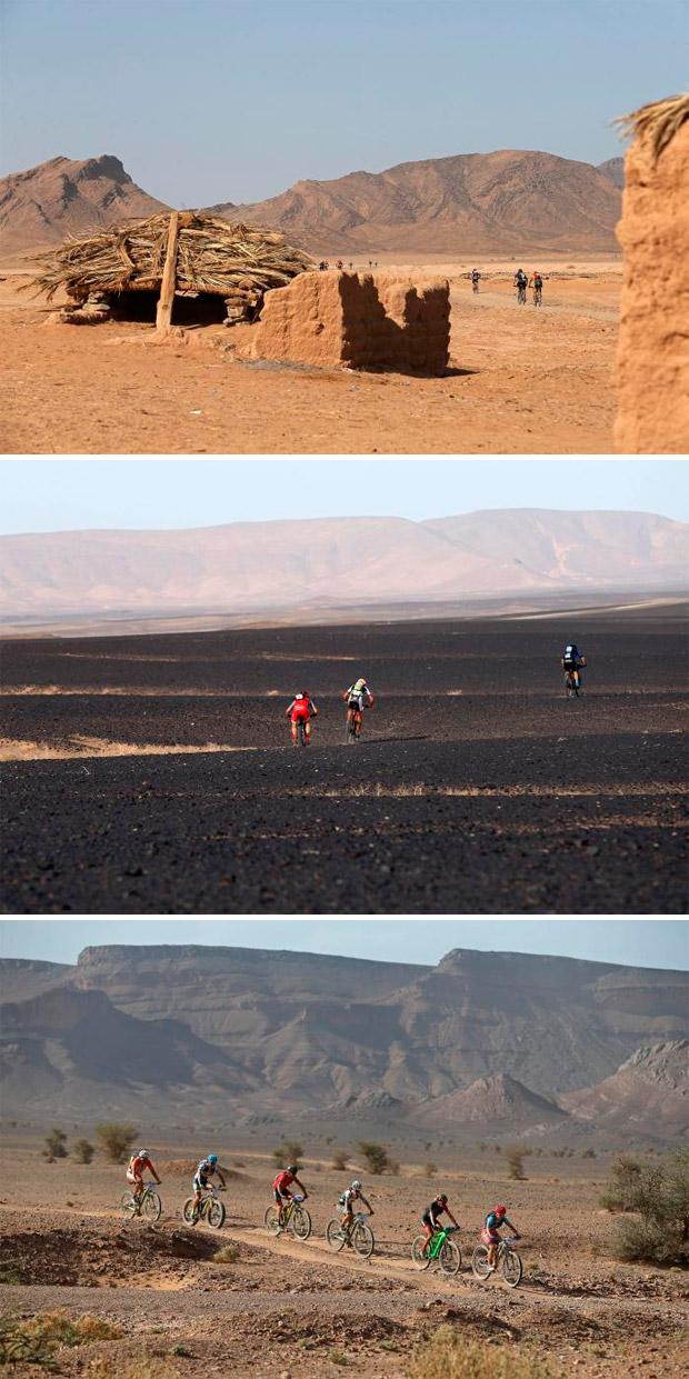 En TodoMountainBike: Victoria para Ondrej Fojtik y Olga Anabel Echenique en la cuarta etapa, la más rápida de la Titan Desert 2017