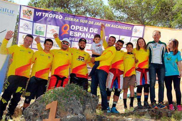 En TodoMountainBike: El Descenso de Alcaudete, penúltima prueba del Open de España DH 2017, para Edgar Carballo y Telma Torregrosa