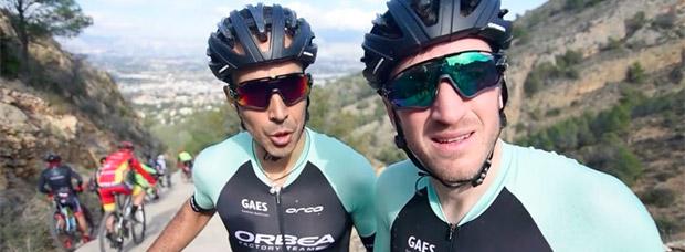 Así han vivido Ibon Zugasti y Tomi Misser (Orbea Factory Team) la Costa Blanca Bike Race 2017