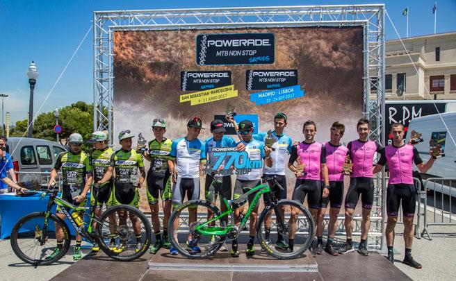 El Berria Factory Team se hace con la Powerade Non Stop San Sebastián-Barcelona 2017