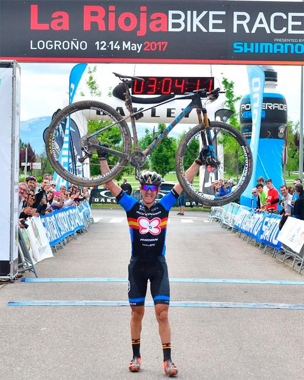 En TodoMountainBike: Victoria para Carlos Coloma y Clàudia Galicia en la primera etapa de La Rioja Bike Race 2017