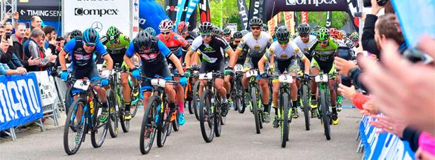 Victoria para Carlos Coloma y Clàudia Galicia en la primera etapa de La Rioja Bike Race 2017
