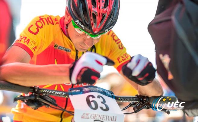 Florian Vogel y Yana Belomoina, vencedores del Campeonato de Europa XCO 2017