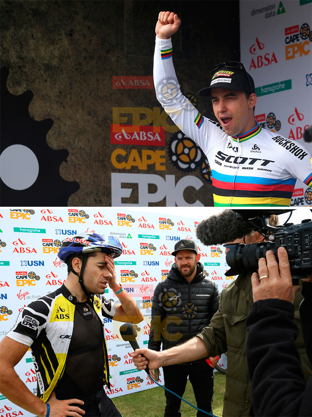 En TodoMountainBike: Nino Schurter y Matthias Stirnemann, líderes de la Absa Cape Epic 2017 tras la quinta etapa
