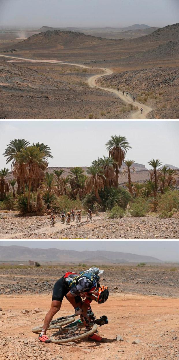 En TodoMountainBike: Josep Betalú y Anna Ramírez, líderes la GAES Titan Desert by Garmin 2017 tras la etapa reina