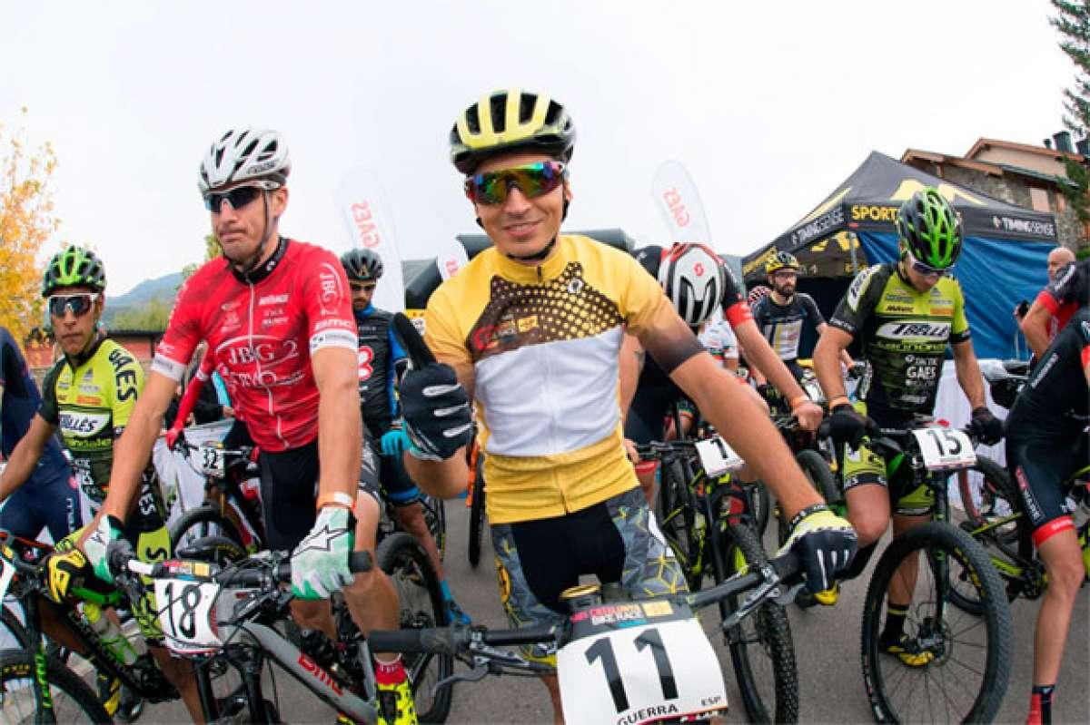 Francesc Guerra y Clàudia Galicia, líderes vigentes tras la segunda etapa de la Catalunya Bike Race 2017