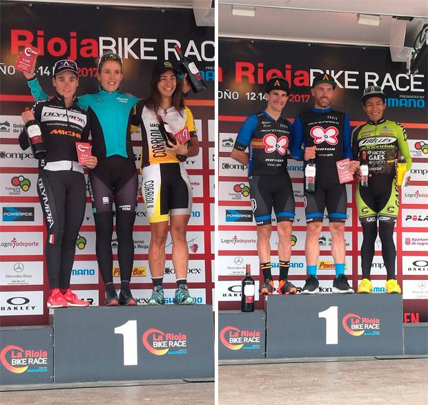 En TodoMountainBike: La segunda etapa de La Rioja Bike Race 2017, para Jesús del Nero y Clàudia Galicia
