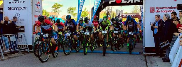 La segunda etapa de La Rioja Bike Race 2017, para Jesús del Nero y Clàudia Galicia