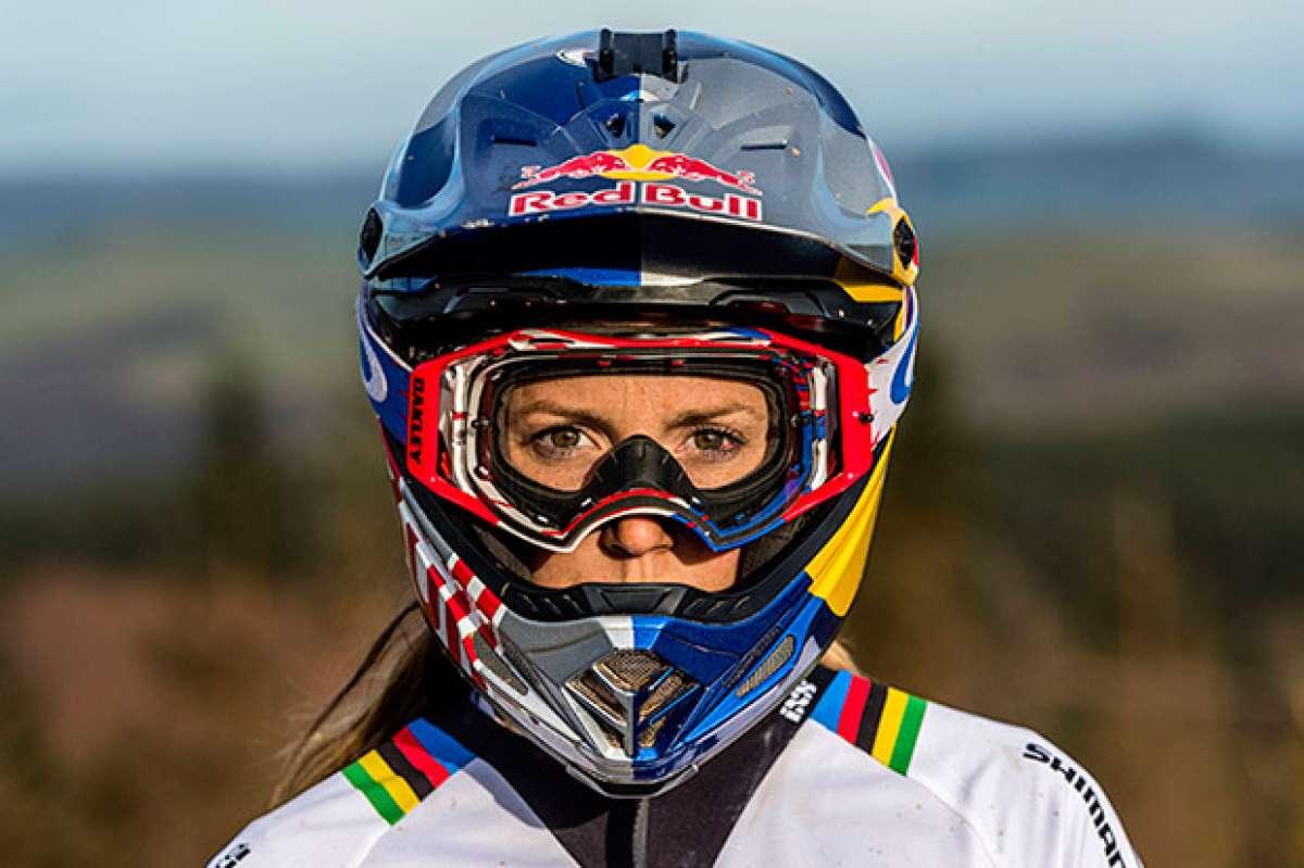 Recapitulando la temporada perfecta de Rachel Atherton, máxima favorita de la Copa del Mundo DHI 2017