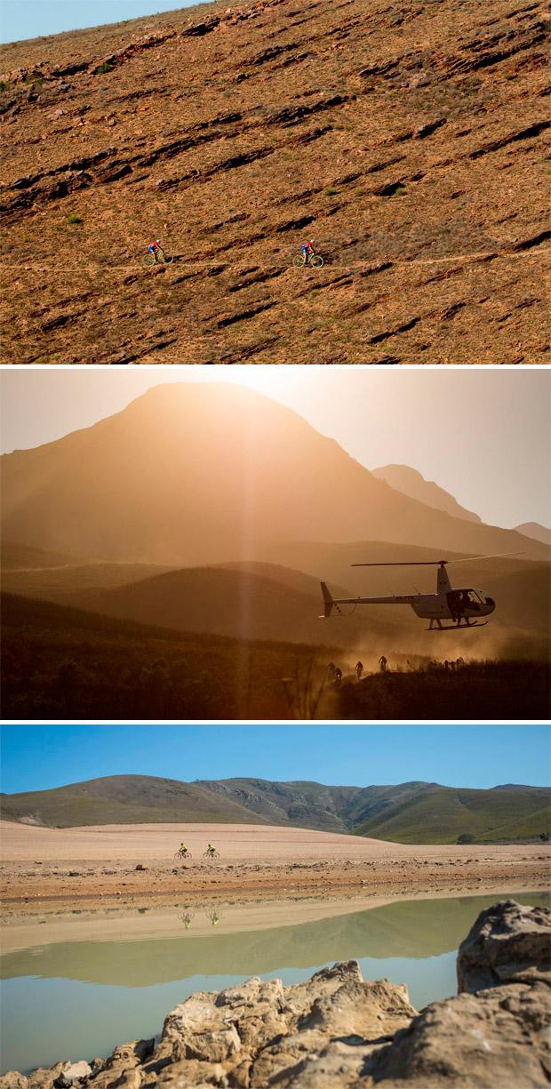 En TodoMountainBike: Sauser, Kulhavy, de Groot y Spitz, imparables en la tercera etapa de la Absa Cape Epic 2017