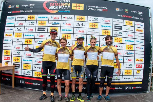 En TodoMountainBike: Francesc Guerra y Clàudia Galicia, vencedores de la primera edición de la Catalunya Bike Race